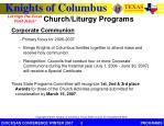 church liturgy programs