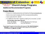 church liturgy programs1