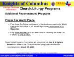 church liturgy programs2
