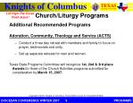 church liturgy programs3