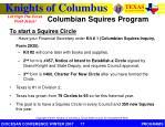 columbian squires program1