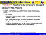 vocations seminarians support4