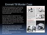 emmett till murder case