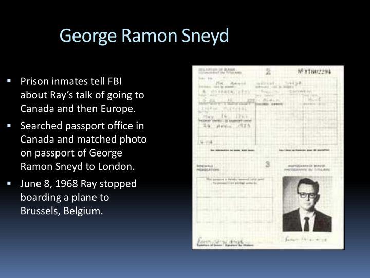 George Ramon Sneyd