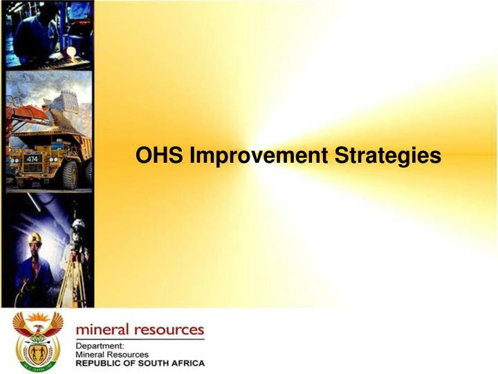 OHS Improvement Strategies