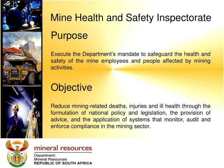 Mine Health and Safety Inspectorate