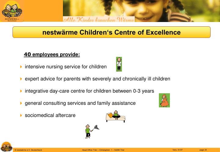 nestwärme Children's Centre of Excellence