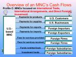 overview of an mnc s cash flows2