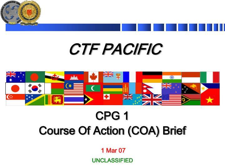 CTF PACIFIC