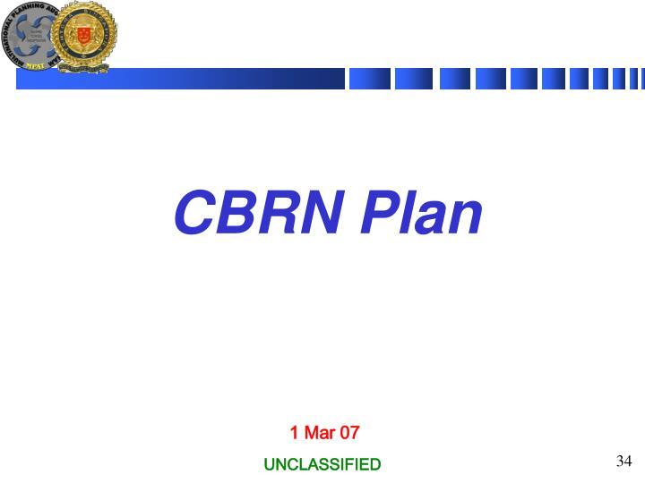 CBRN Plan