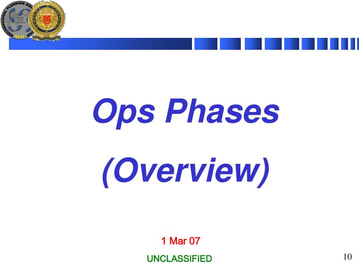 Ops Phases