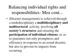 balancing individual rights and responsibilities moz cont