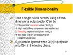 flexible dimensionality2