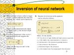 inversion of neural network1