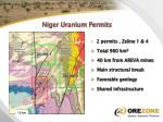 niger uranium permits