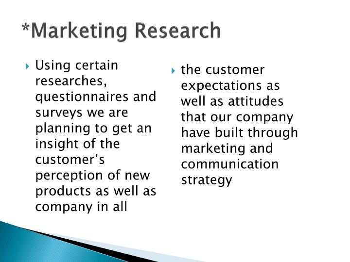 *Marketing Research