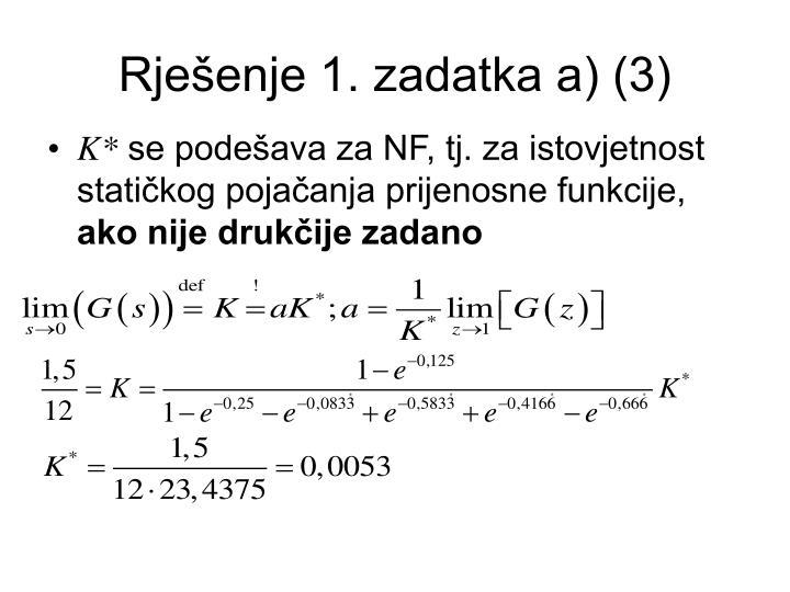 Rješenje 1. zadatka a) (3)