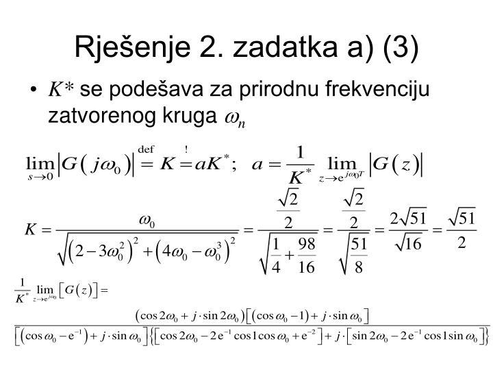 Rješenje 2. zadatka a) (3)