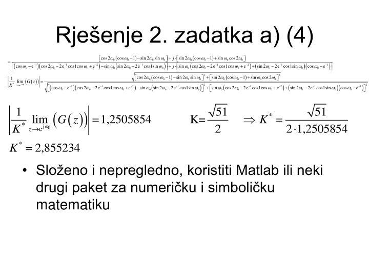 Rješenje 2. zadatka a) (4)