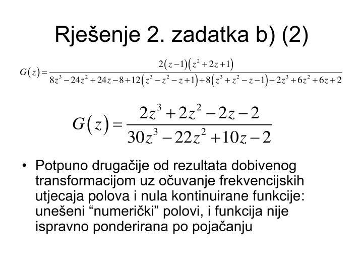 Rješenje 2. zadatka b) (2)