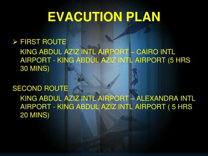 EVACUTION PLAN