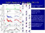 oj287 agudo et al 2011 apjl 726 l13