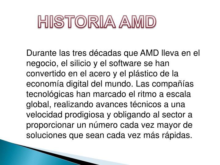 HISTORIA AMD