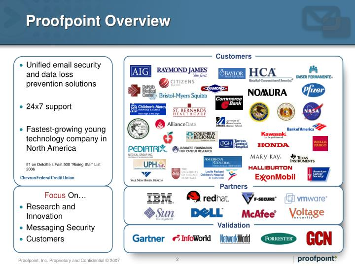 Proofpoint overview