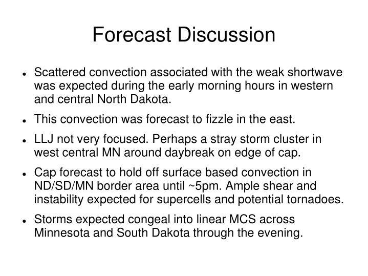 Forecast Discussion