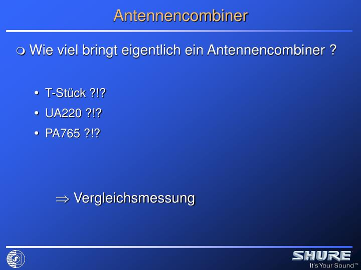 Antennencombiner