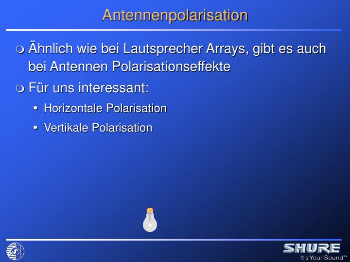 Antennenpolarisation