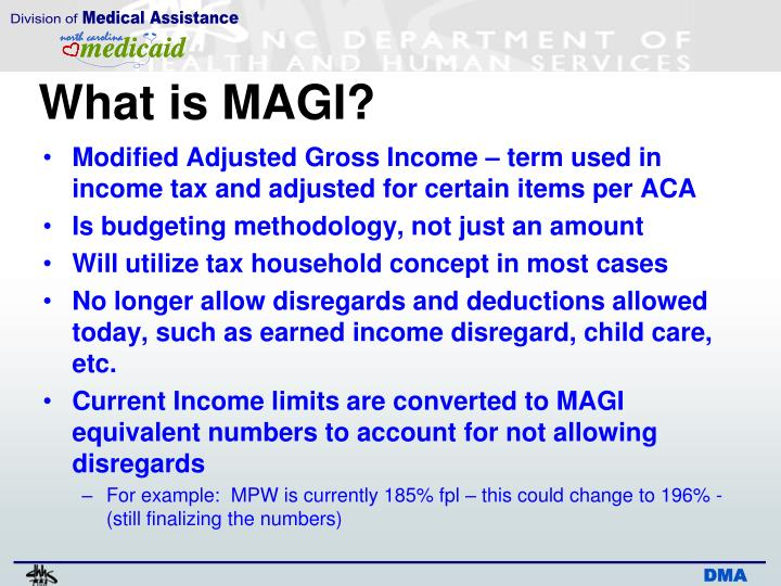 What is MAGI?