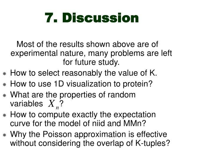 7. Discussion