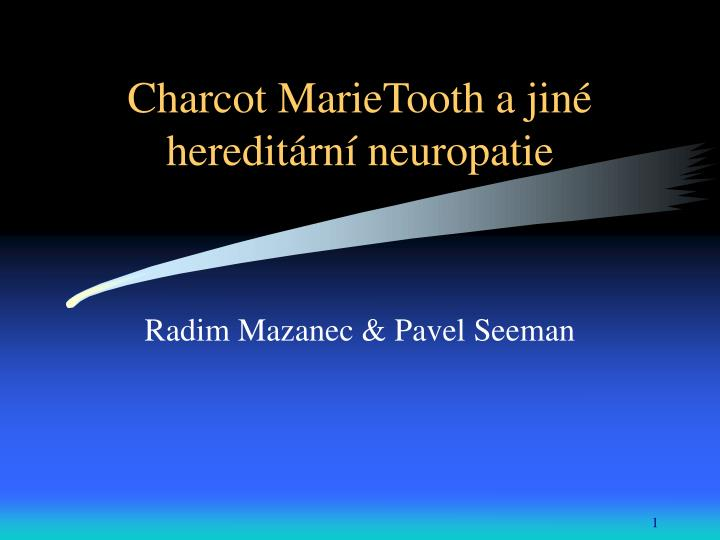charcot marietooth a jin heredit rn neuropatie