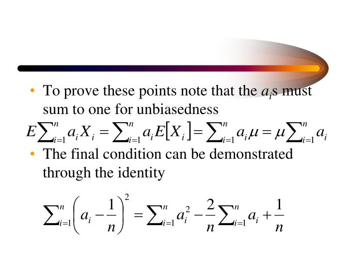 To prove these points note that the