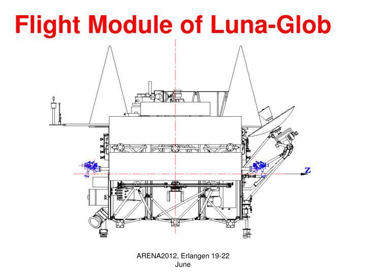 Flight Module of Luna-Glob