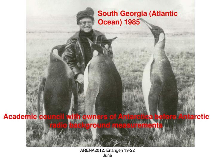 South Georgia (Atlantic Ocean) 1985
