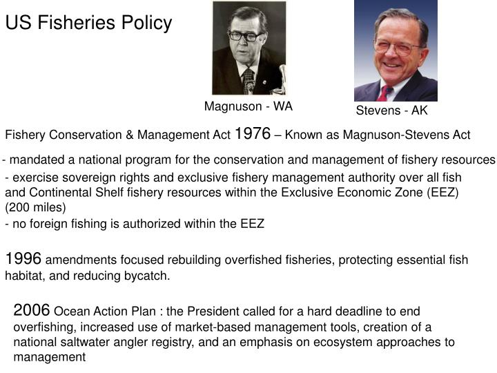 US Fisheries Policy