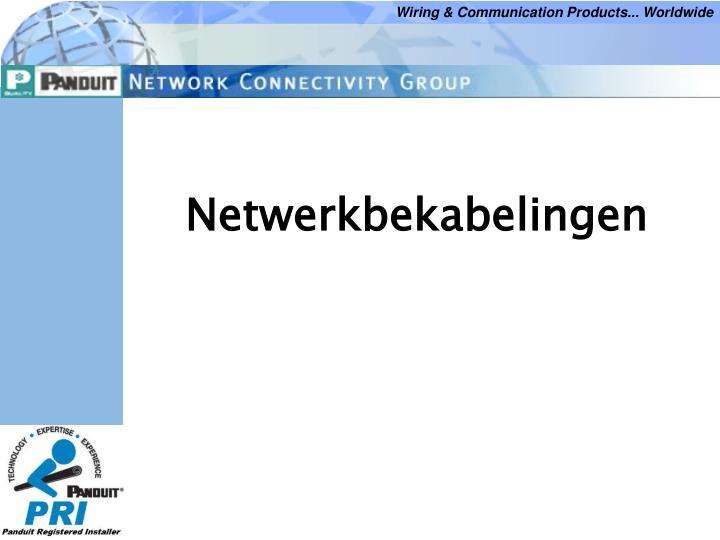 netwerkbekabelingen
