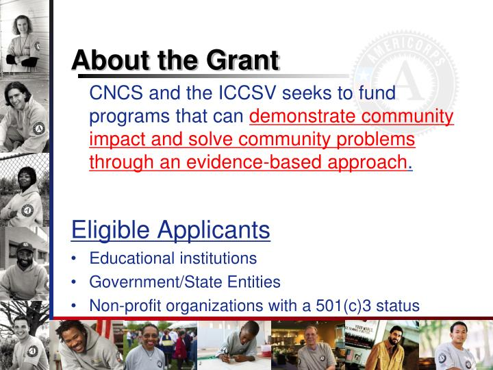 About the Grant