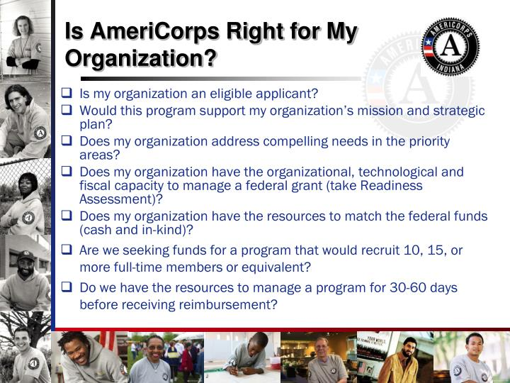 Is AmeriCorps Right for My Organization?