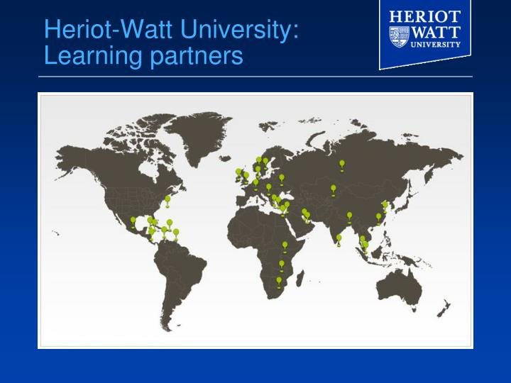 Heriot-Watt University: