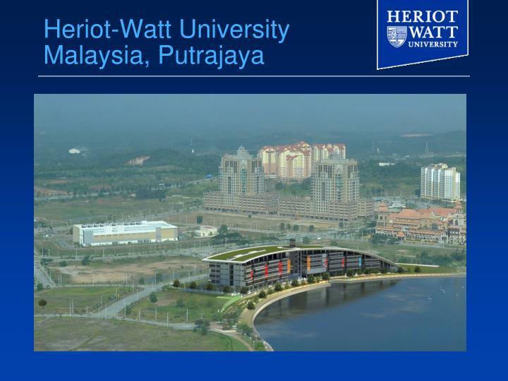 Heriot-Watt University Malaysia, Putrajaya