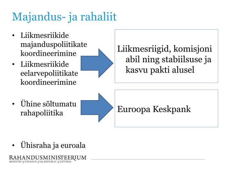 Majandus- ja rahaliit