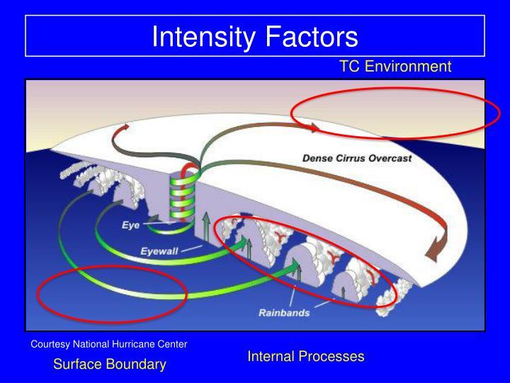 Intensity Factors