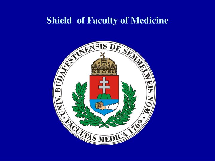 Shield  of Faculty of Medicine