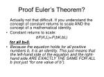 proof euler s theorem