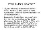 proof euler s theorem1