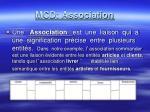 mcd association