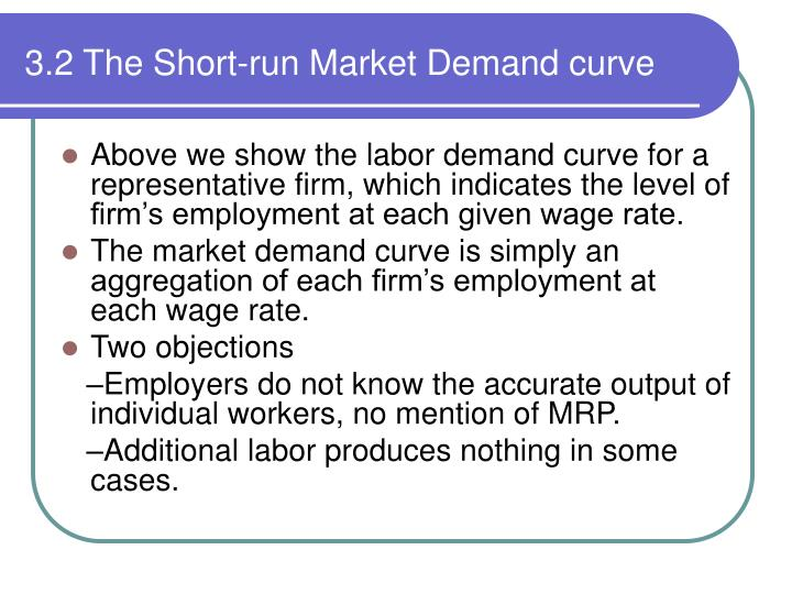 3.2 The Short-run Market Demand curve
